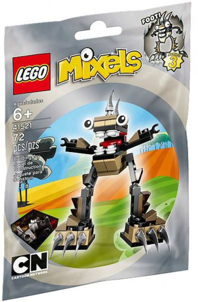 LEGO Mixels Series 3 FOOTI Set #41521