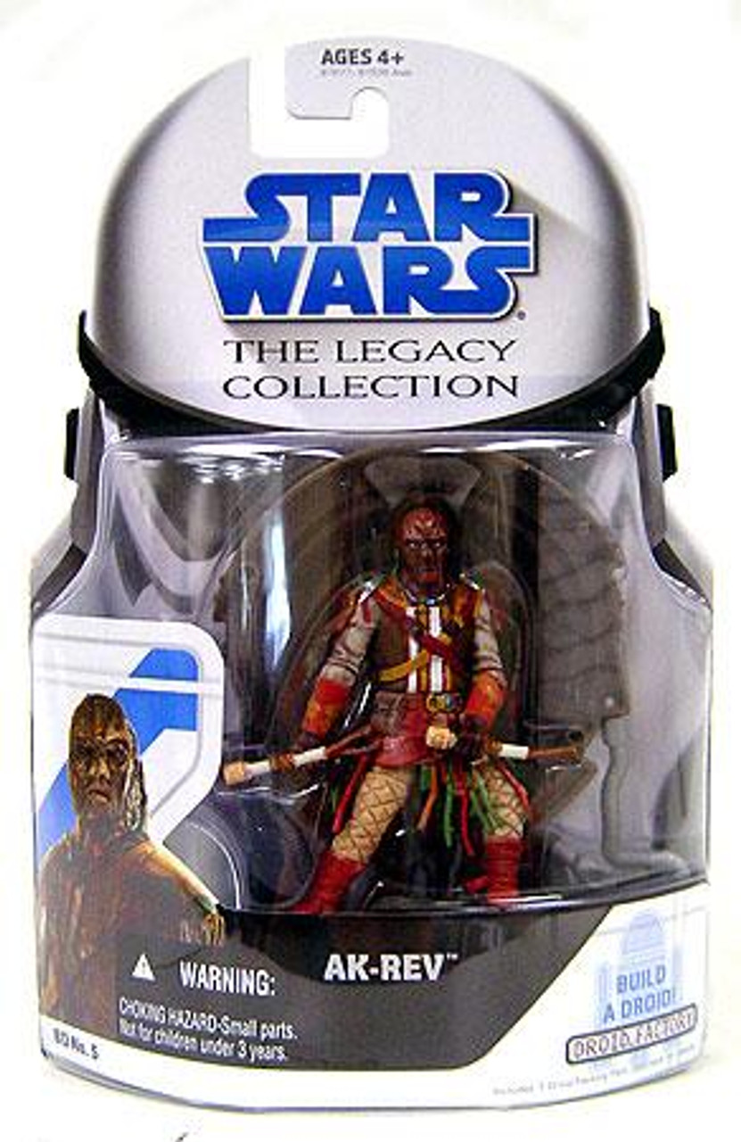 Star Wars Return of the Jedi Legacy Collection 2008 Droid Factory Ak-Rev Action Figure BD05