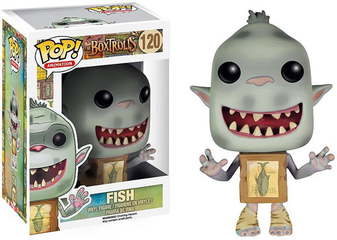 Funko Boxtrolls POP! Animation Fish Vinyl Figure #120