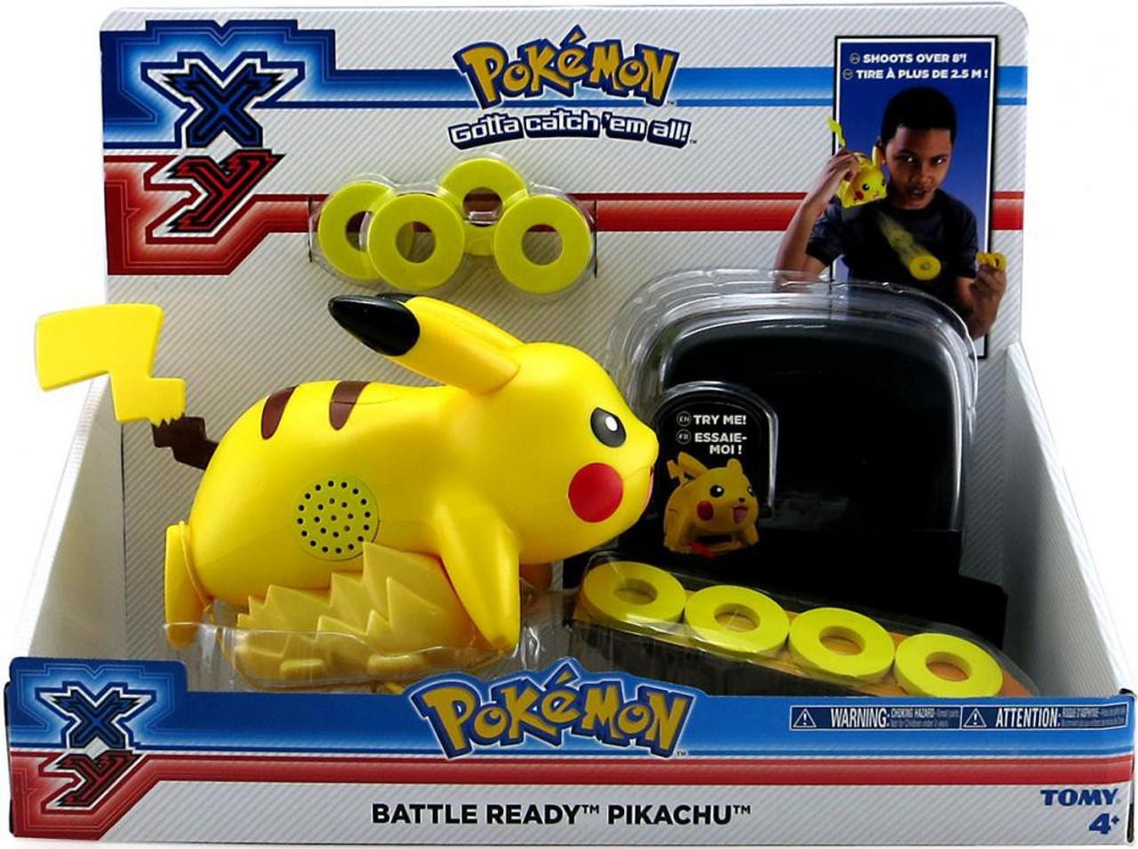 Pokemon XY Battle Ready Pikachu Figure
