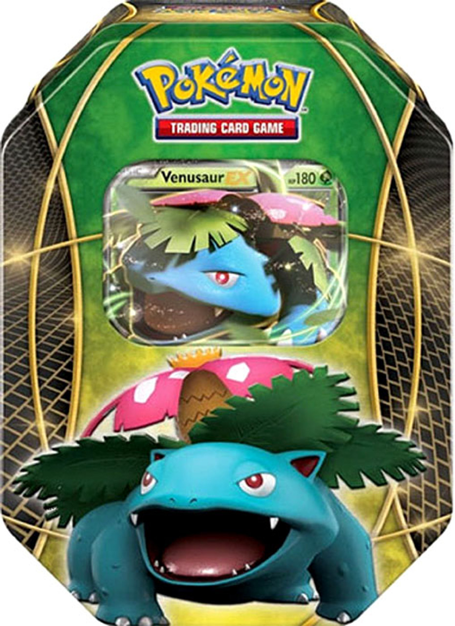 Pokemon Fall 2014 Venusaur-EX Collector Tin