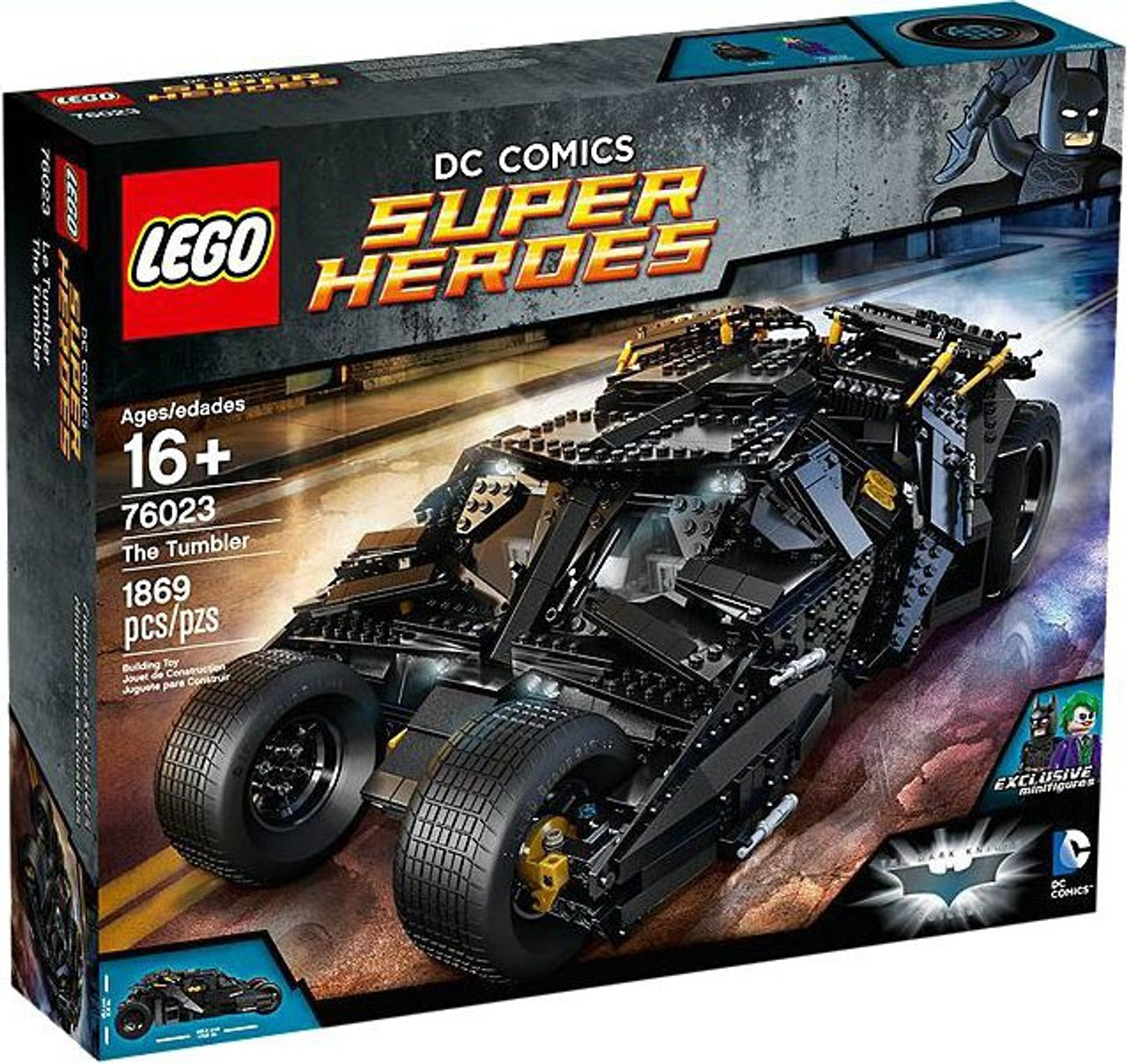 LEGO DC Super Heroes Batman Tumbler Set #76023