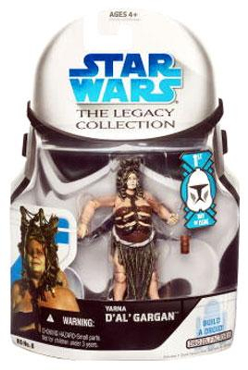 Star Wars Return of the Jedi Legacy Collection 2008 Droid Factory Yarna Dal Gargan Action Figure BD06 [First Day of Issue]
