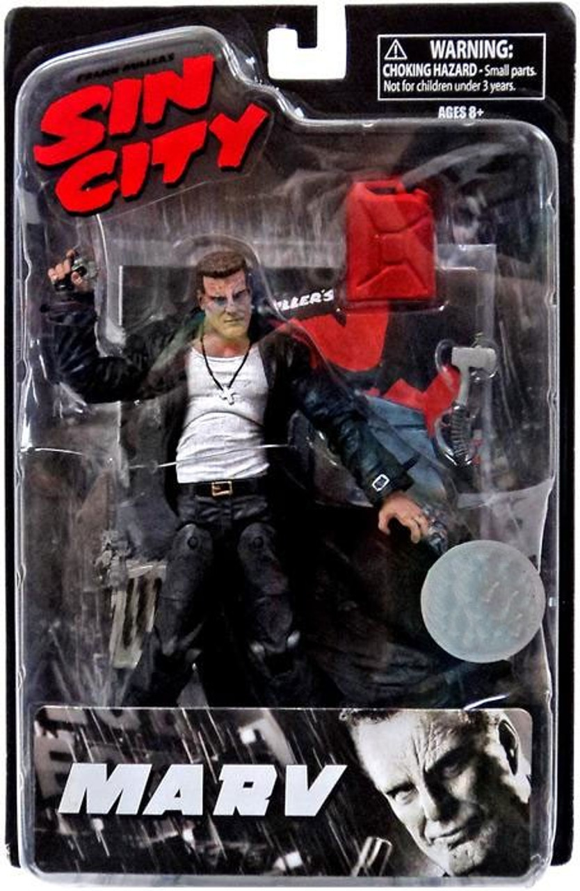 Sin City Marv Exclusive Action Figure [Exclusive]