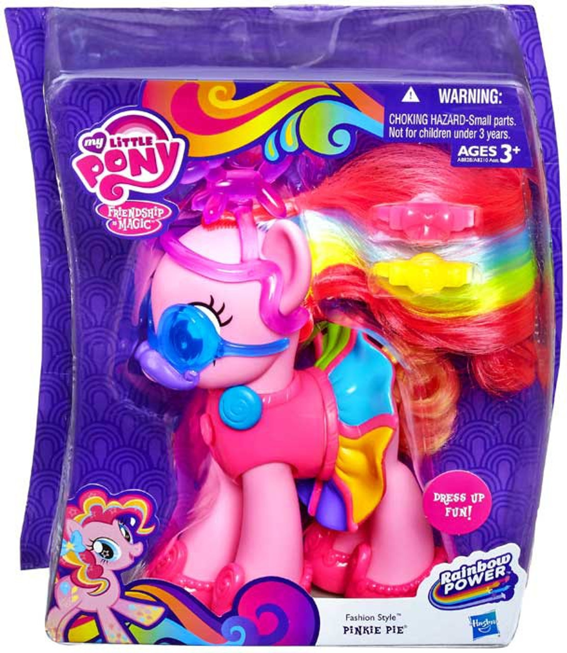 My Little Pony Friendship Is Magic Rainbow Power Pinkie Pie Figure Fashion Style Hasbro Toys