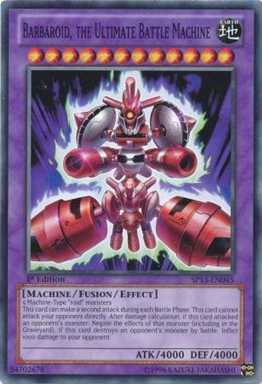 barbaroid the ultimate battle machine