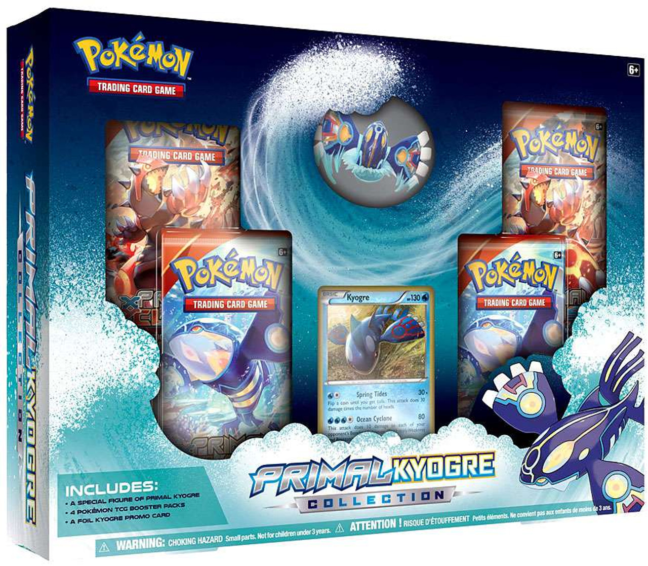 Primal Kyogre pokemon primal reversion primal kyogre collection pokemon usa - toywiz