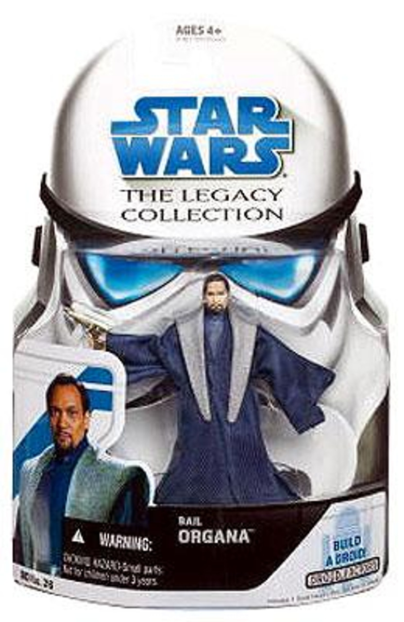 Star Wars Revenge of the Sith Legacy Collection 2008 Droid Factory Bail Organa Action Figure BD26