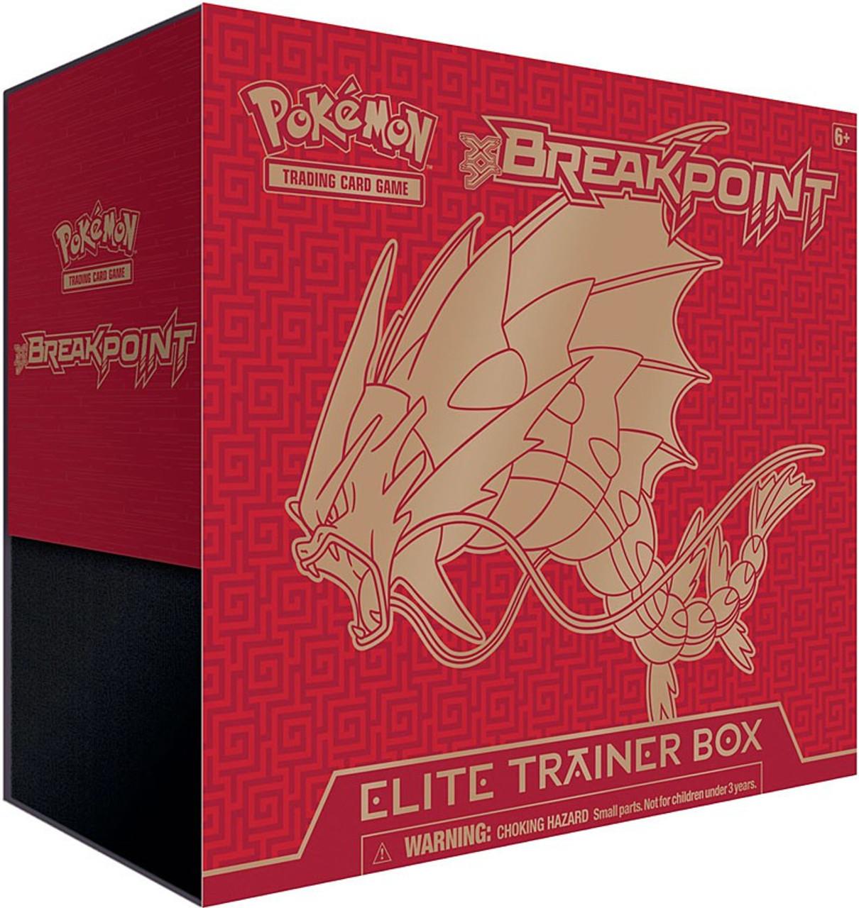 Pokemon XY BREAKpoint Elite Trainer Box Mega Gyarados