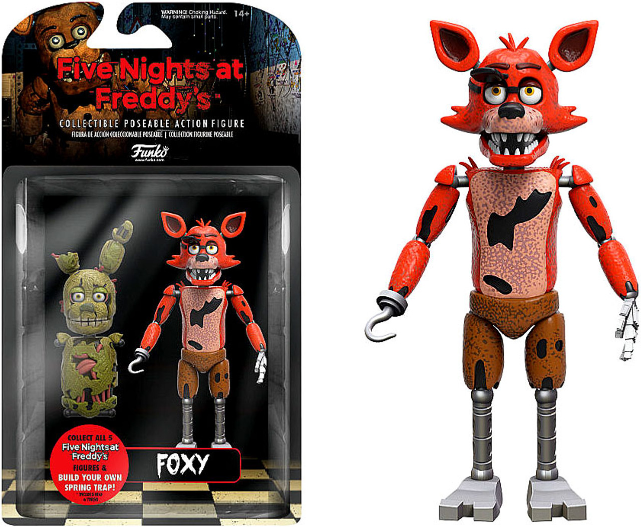 Five Nights At Freddy S Foxy Action Figure Build A Figure