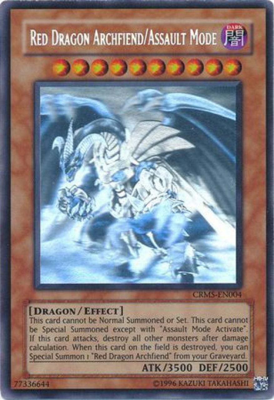 yugioh 5ds crimson crisis single card ghost rare red