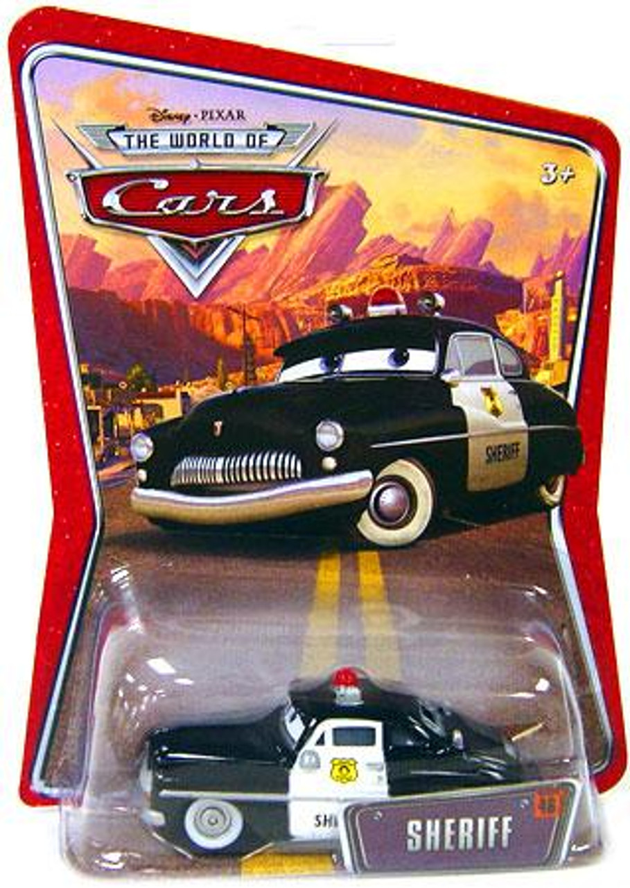 Disney Cars The World of Cars World of Cars Sheriff Diecast Car