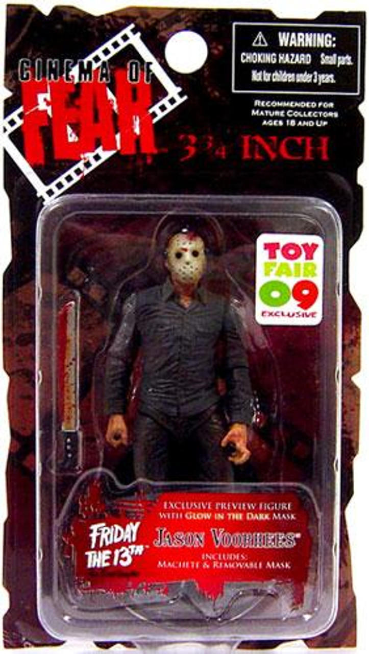 Friday the 13th Cinema of Fear Jason Voorhees Exclusive Action Figure [Toy Fair 2009]