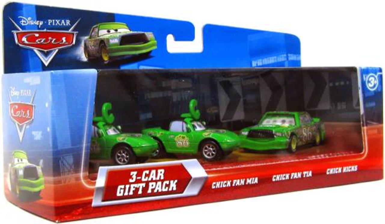 Disney Cars Multi-Packs Chick Hicks 3-Car Gift Pack Diecast Car Set