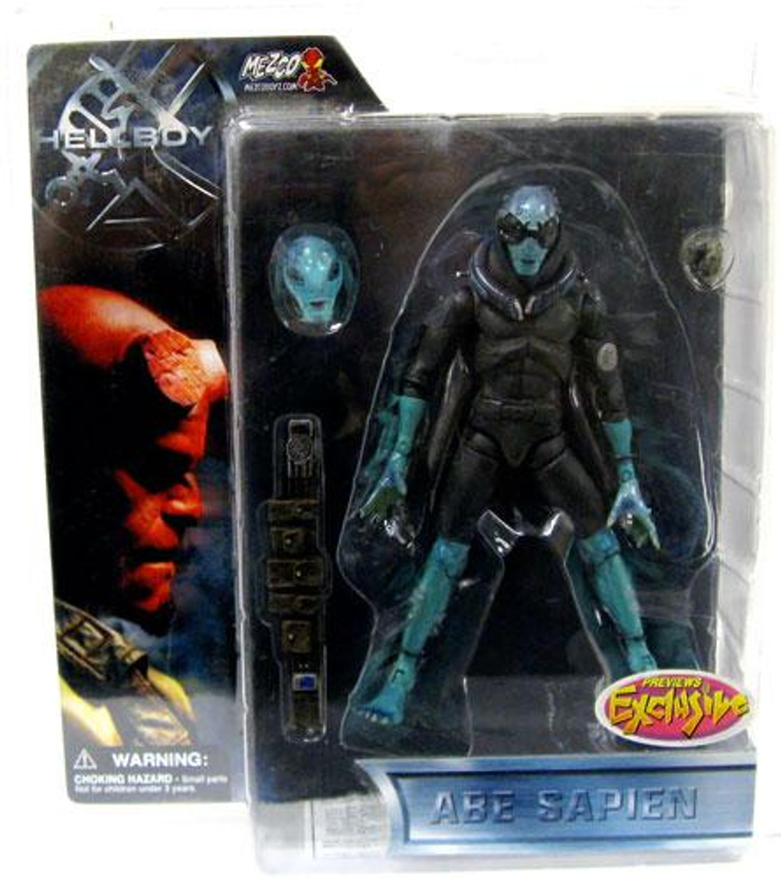 Hellboy Abe Sapien Exclusive Action Figure [PX Previews]