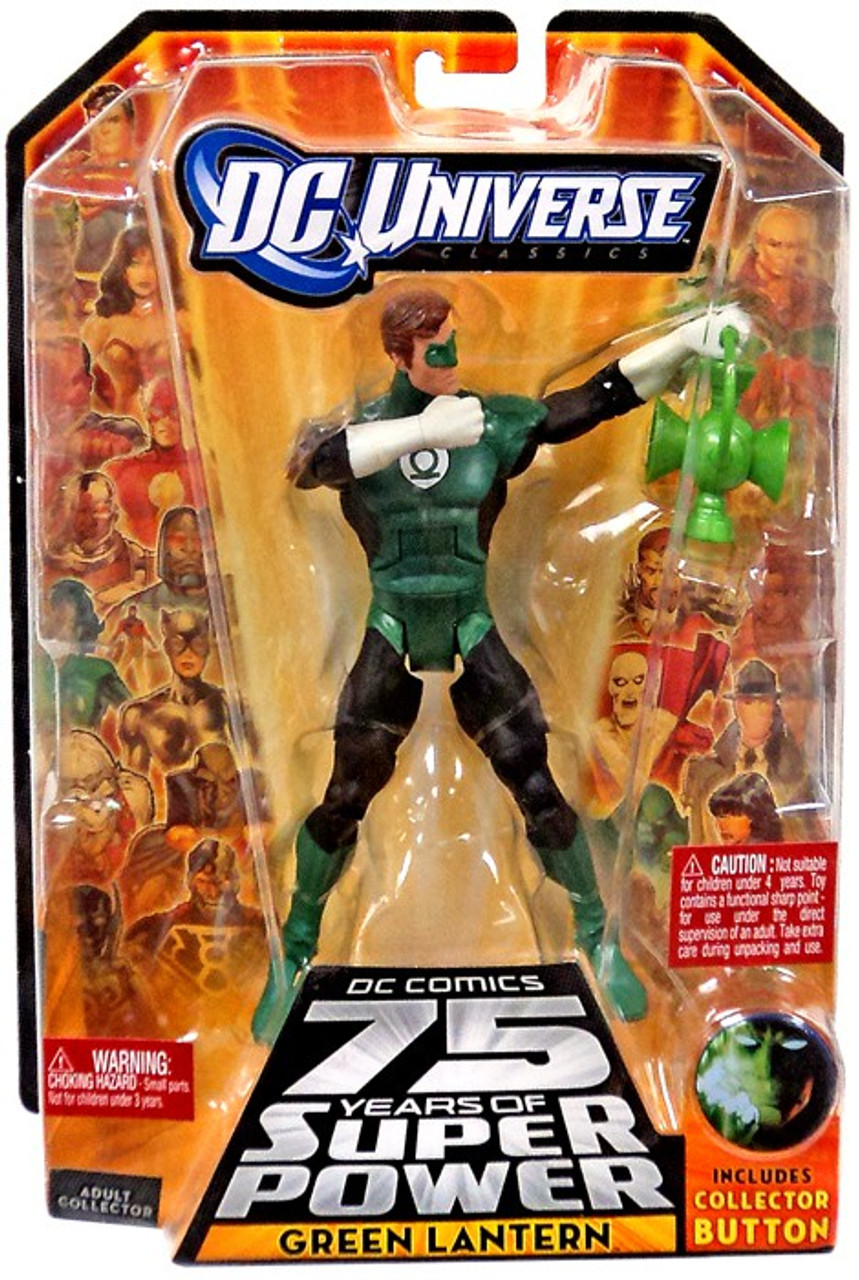 DC Universe 75 Years of Super Power Classics Trigon Series