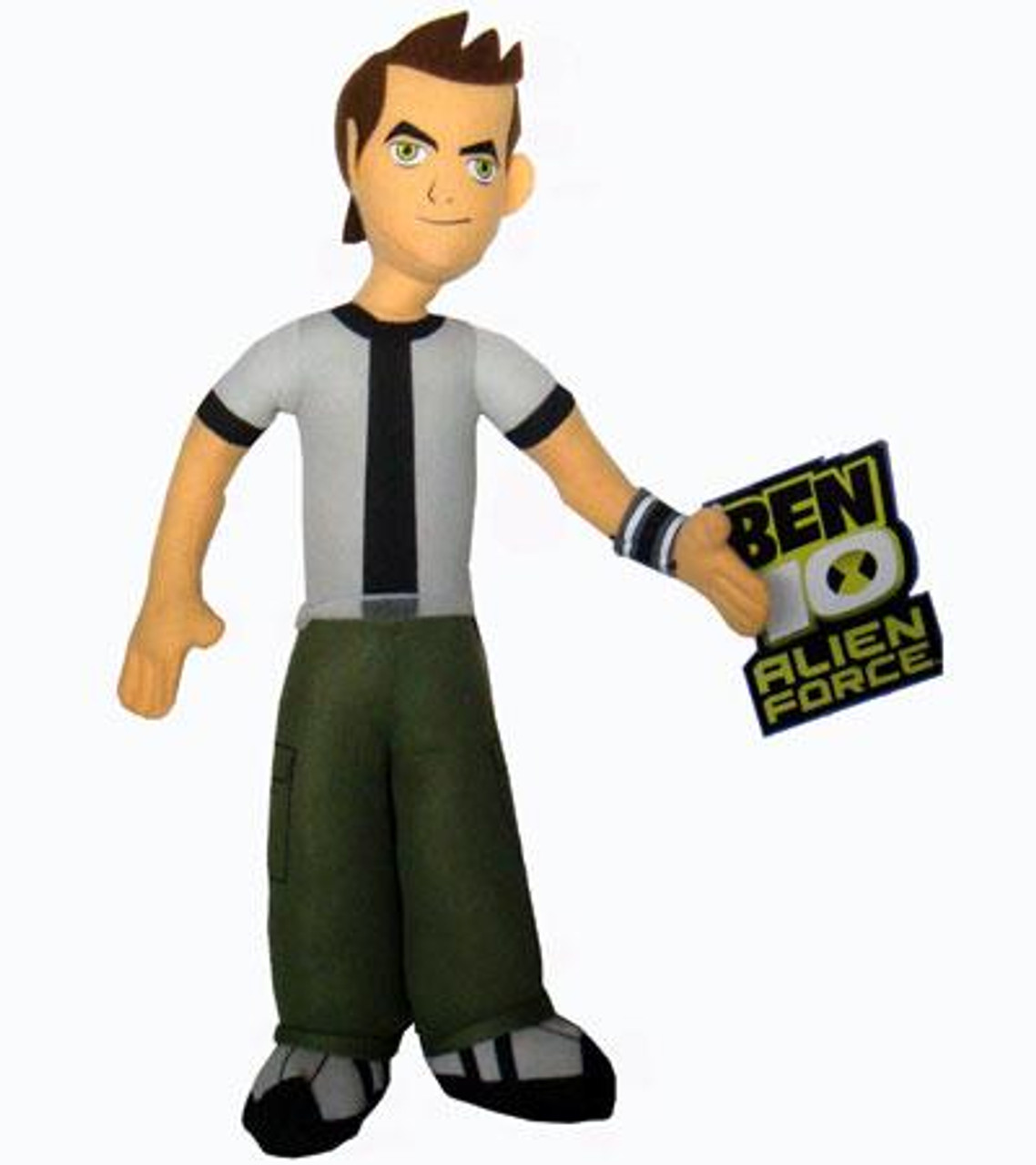 Alien Force Ben 10 13-Inch Plush Figure