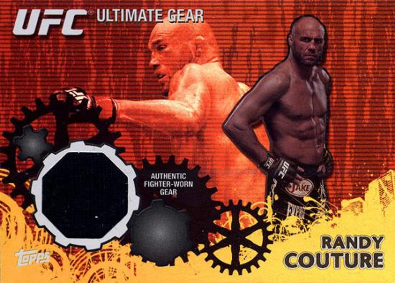 UFC 2010 Championship Ultimate Gear Relic Randy Couture UG-RC [Yellow Background]