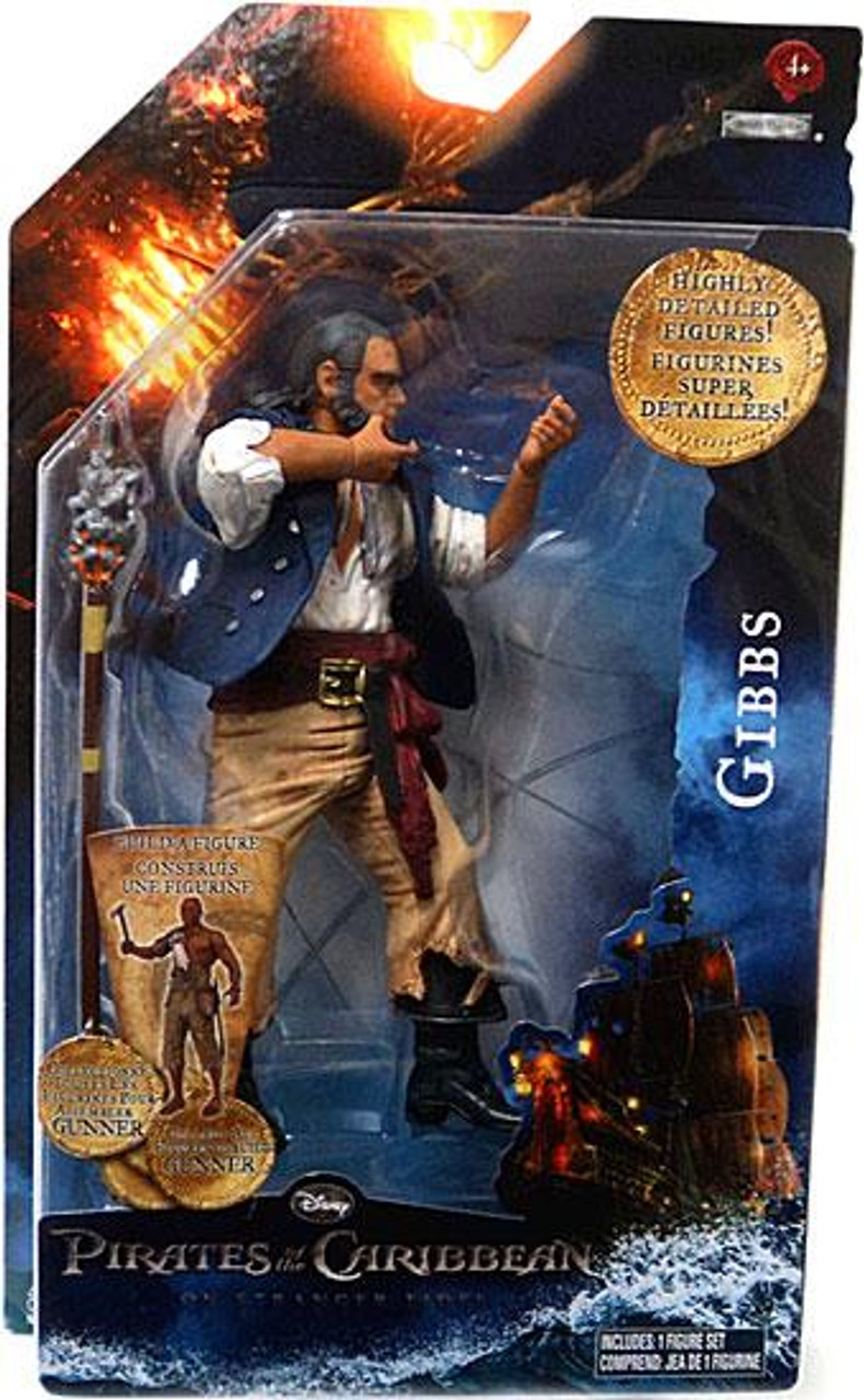 Pirates of the Caribbean On Stranger Tides Series 1 6 Inch Gibbs Action Figure