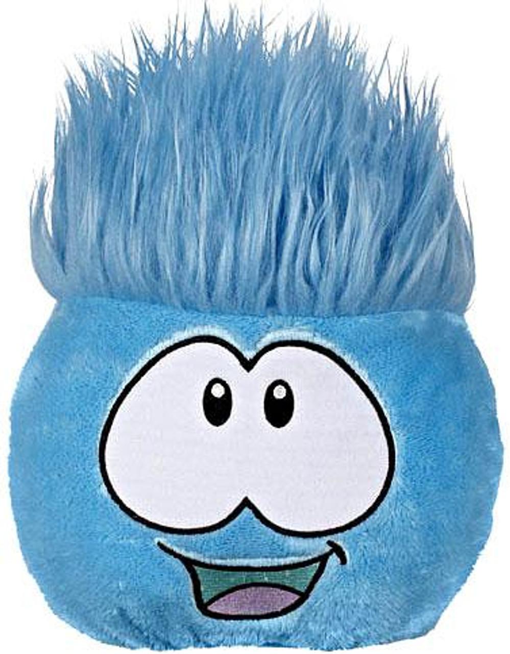 Club Penguin Blue Puffle 8-Inch Plush