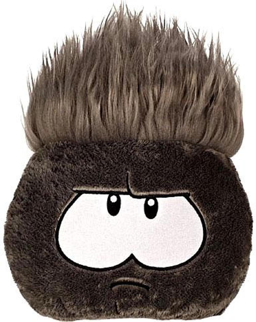 Club Penguin Black Puffle 8-Inch Plush