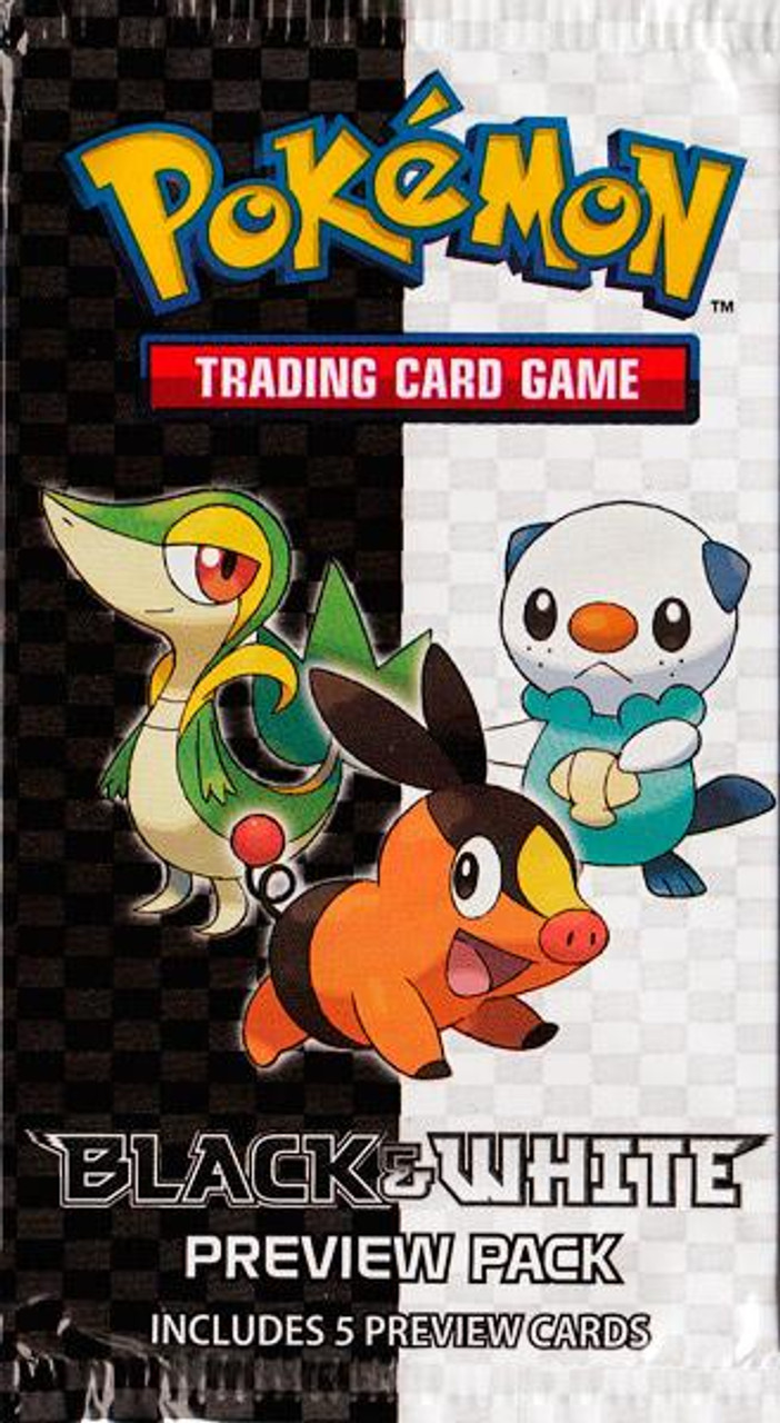 Pokemon Black & White Booster Pack [Preview Pack]