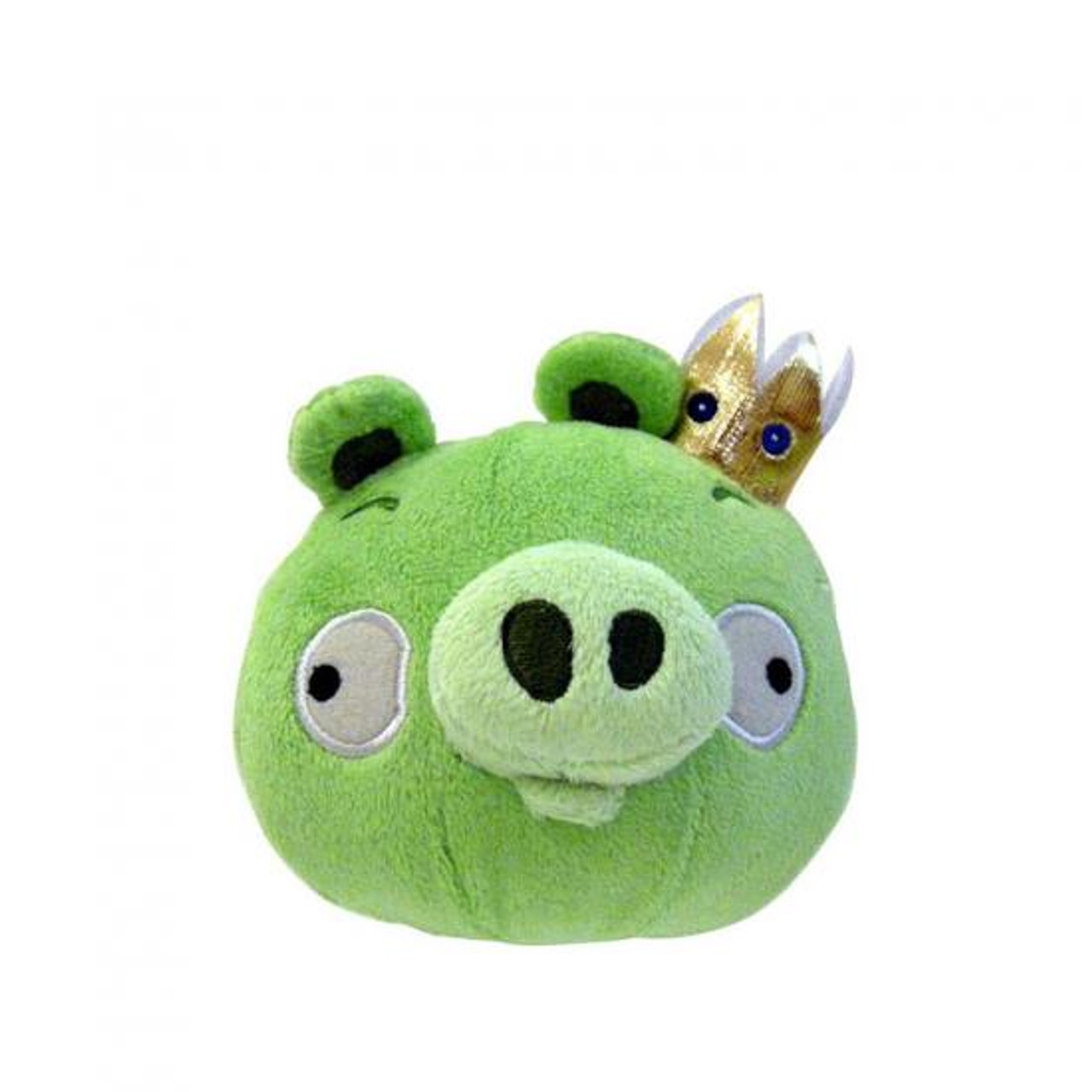 Angry Birds King Pig 5-Inch Plush [With Sound]
