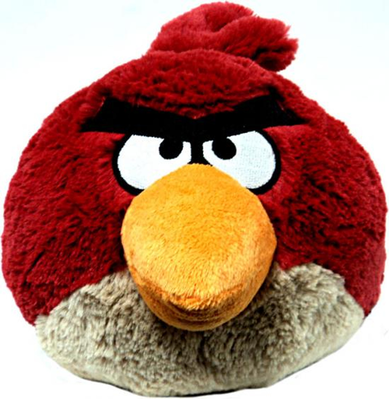 Angry Birds Red Bird 8-Inch Plush [With Sound]