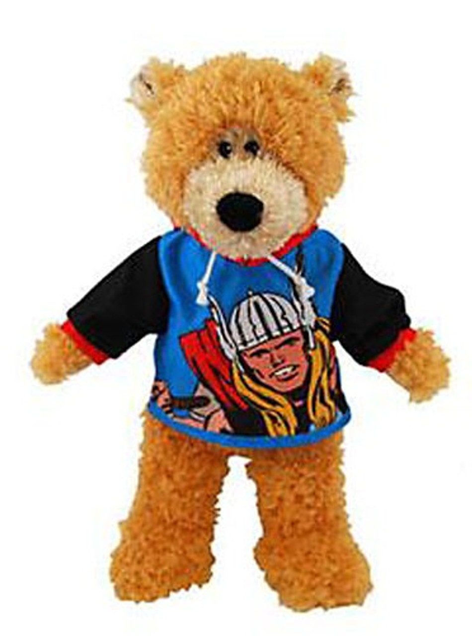 Bear with Thor Shirt 9-Inch Plush