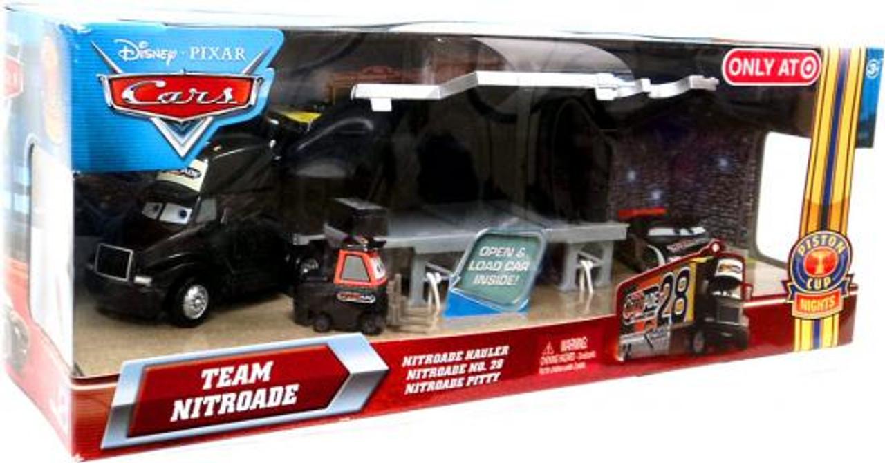 Disney Cars Multi-Packs Team Nitroade Exclusive Diecast Car Set