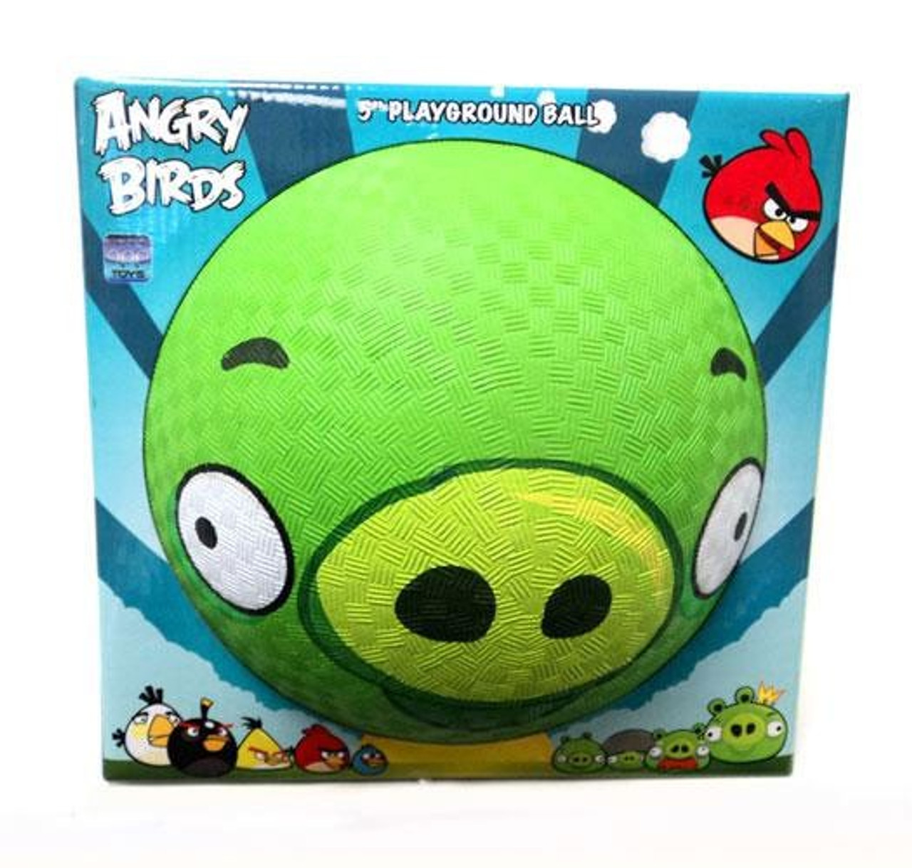Angry Birds Pig 5-Inch Rubber Playground Ball