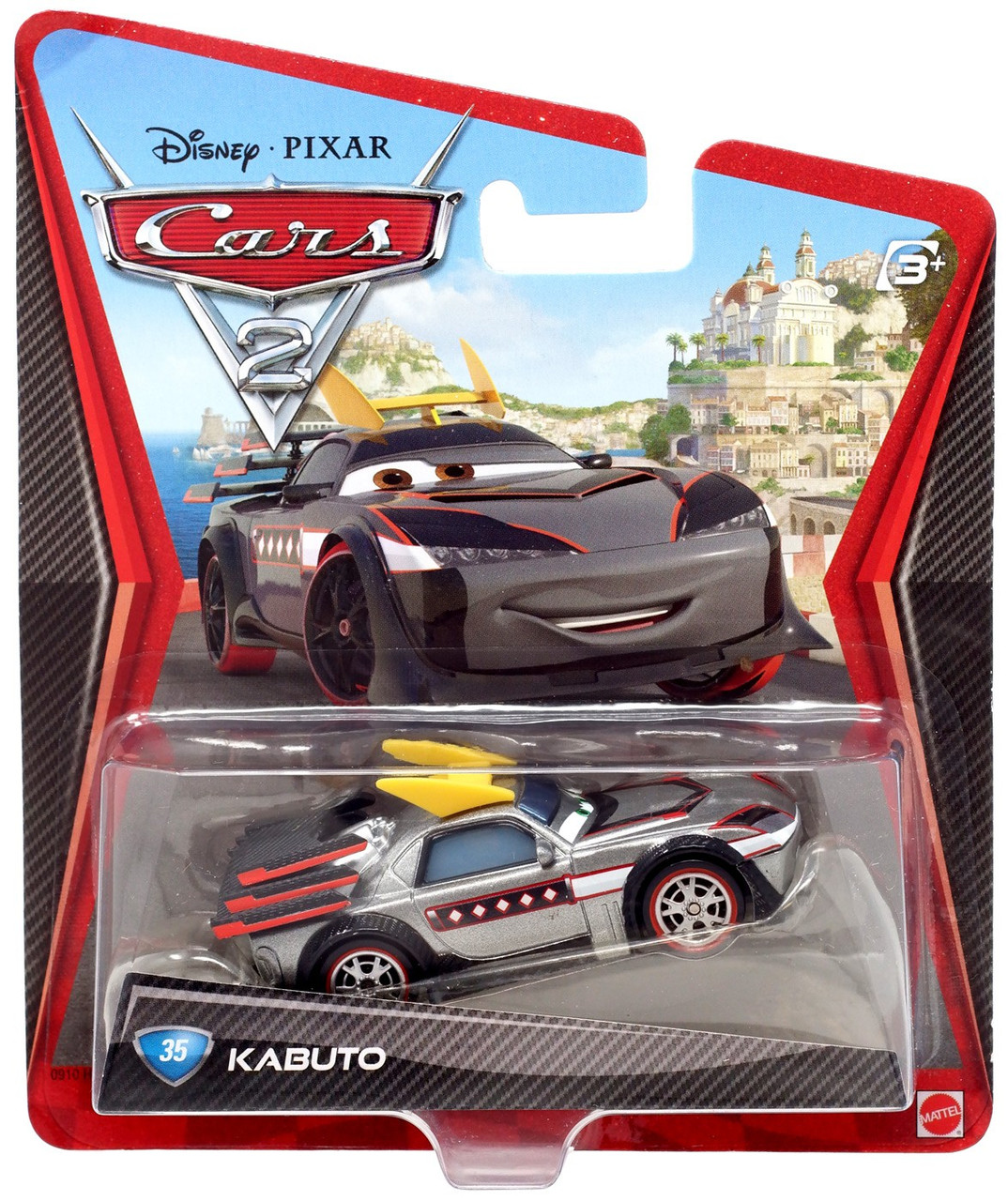 Disney Cars Cars 2 Main Series Kabuto Diecast Car