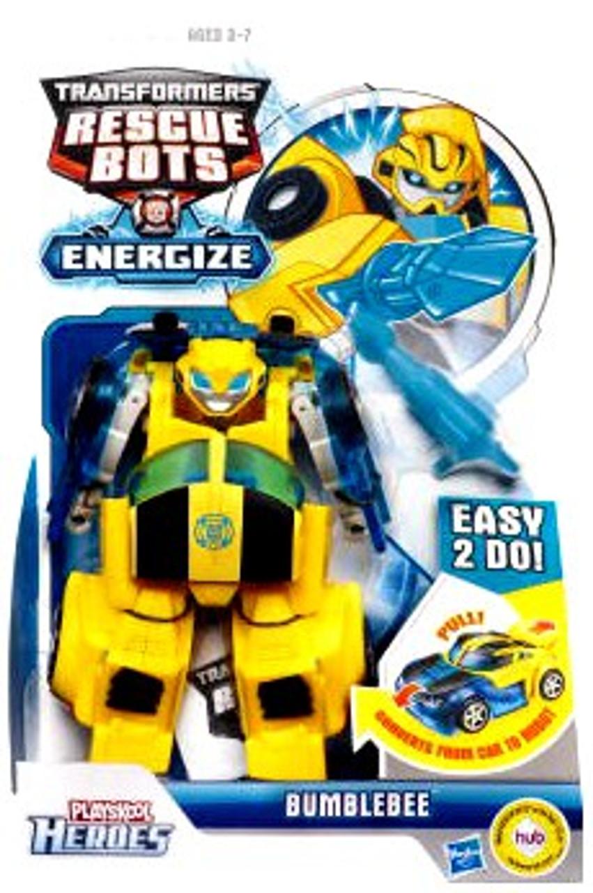 Transformers Rescue Bots Playskool Heroes Bumblebee Action Figure [Energize]