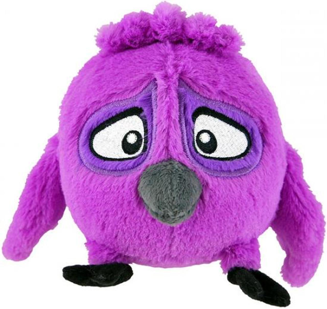 Angry Birds Rio Purple 5-Inch Plush [Talking]