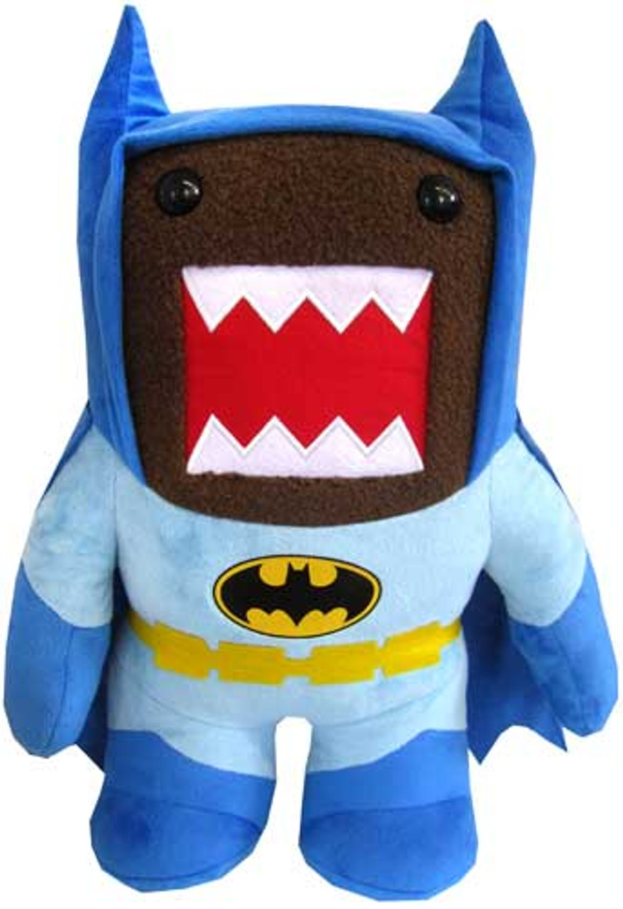 Caped Crusader Batman Domo 16.5-Inch Plush