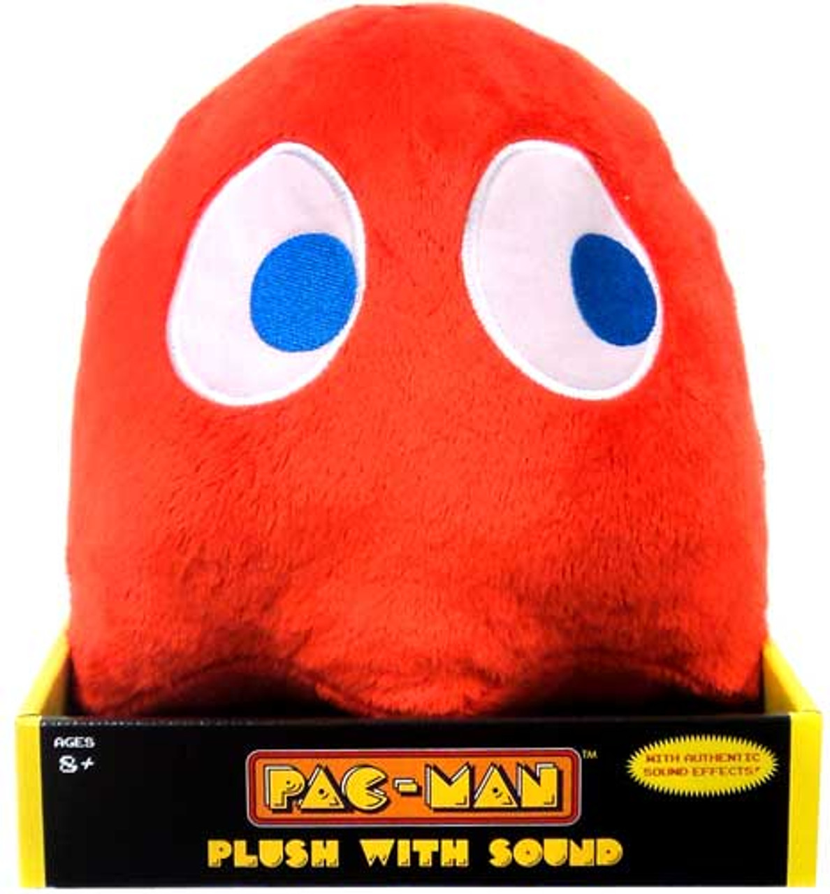 Pac Man Namco Red Ghost 9-Inch Plush [With Sound]