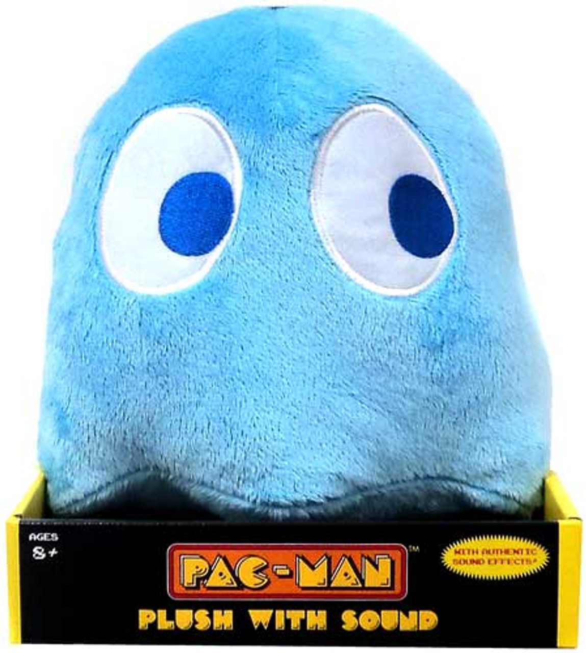 Pac Man Namco Blue Ghost 9-Inch Plush [With Sound]