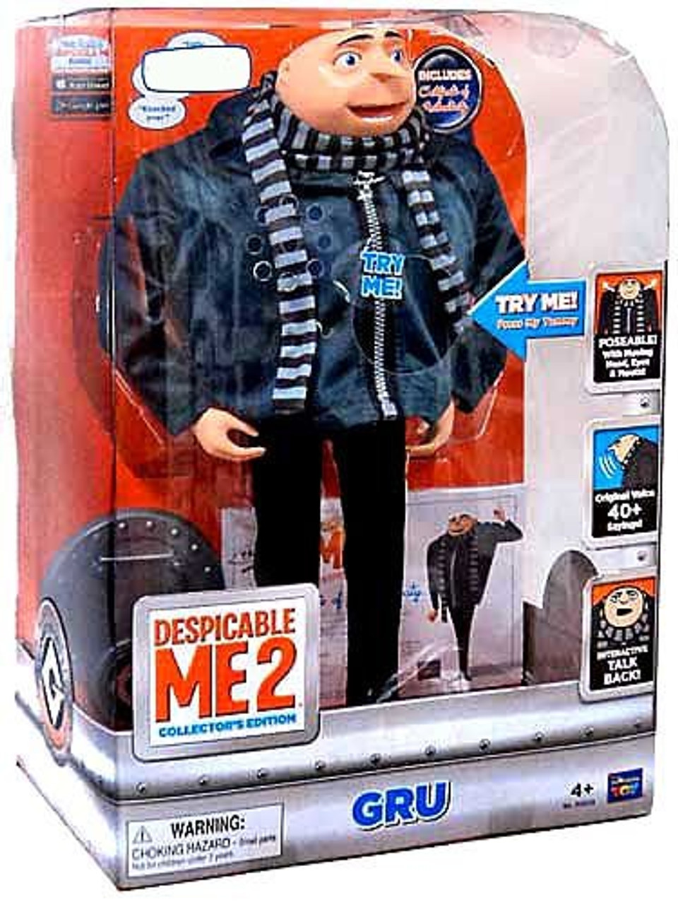 Despicable Me 2 Gru Exclusive Action Figure