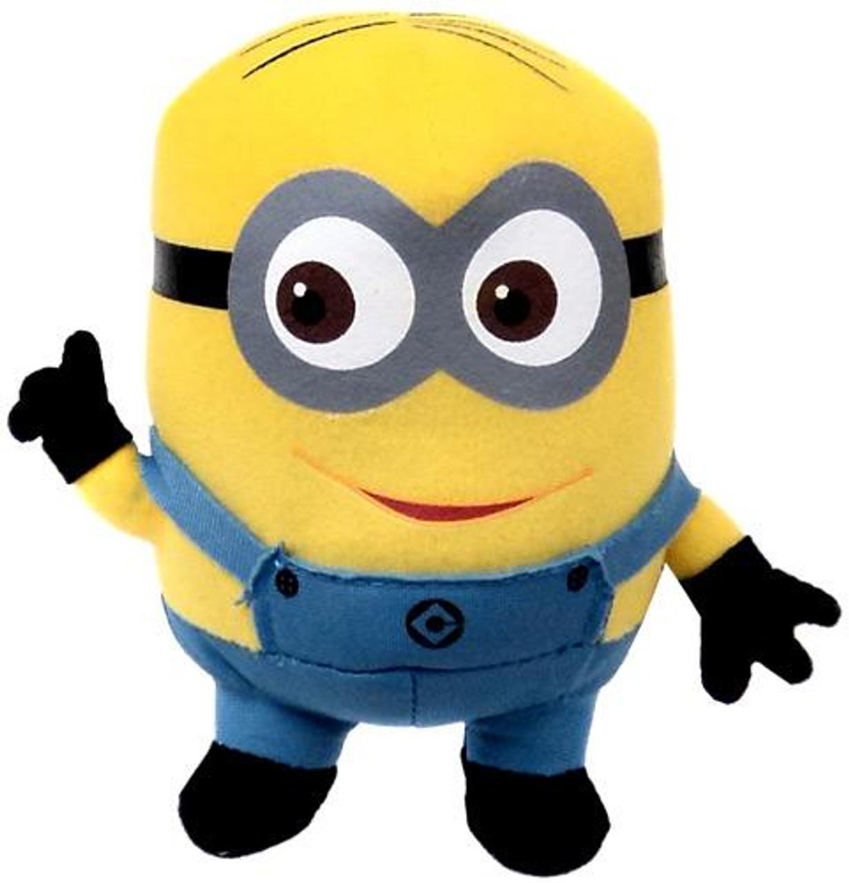 Despicable Me 2 Minion Dave 7-Inch Plush Figure