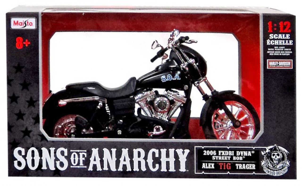 "Sons of Anarchy Alex ""Tig"" Trager 1/12 Diecast Replica Bike"
