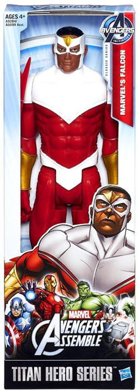Marvel Avengers Assemble Titan Hero Series Falcon Action Figure