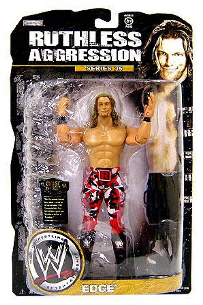 WWE Wrestling Ruthless Aggression Series 35 Edge Action Figure