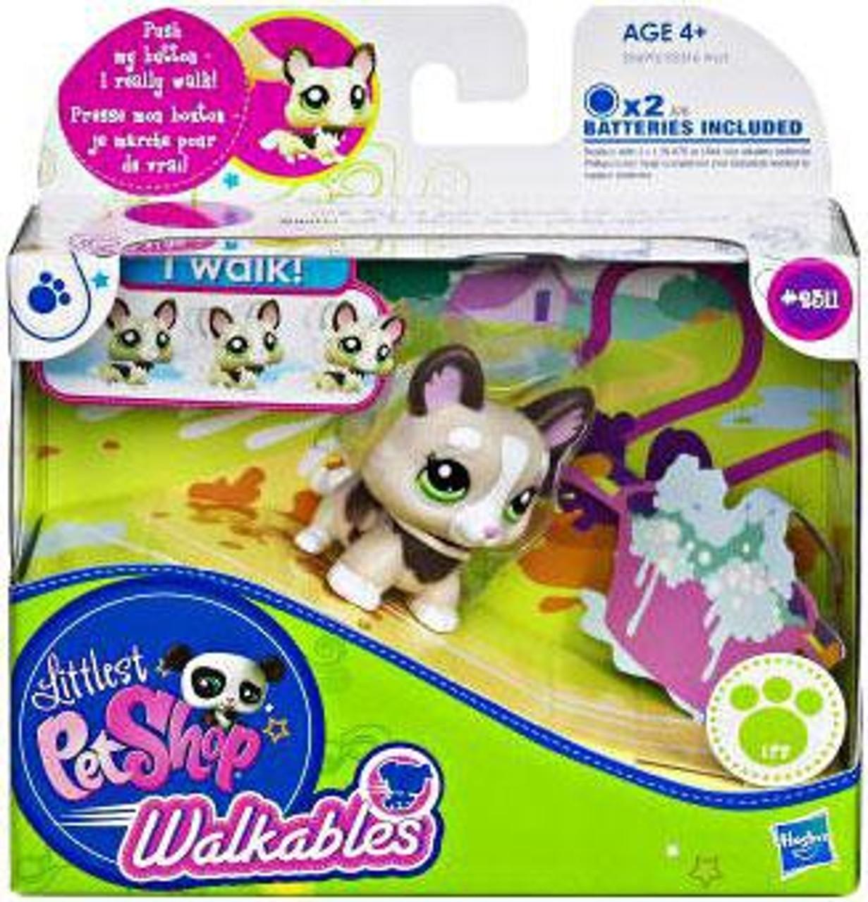Littlest Pet Shop Walkables Corgi Figure #2311