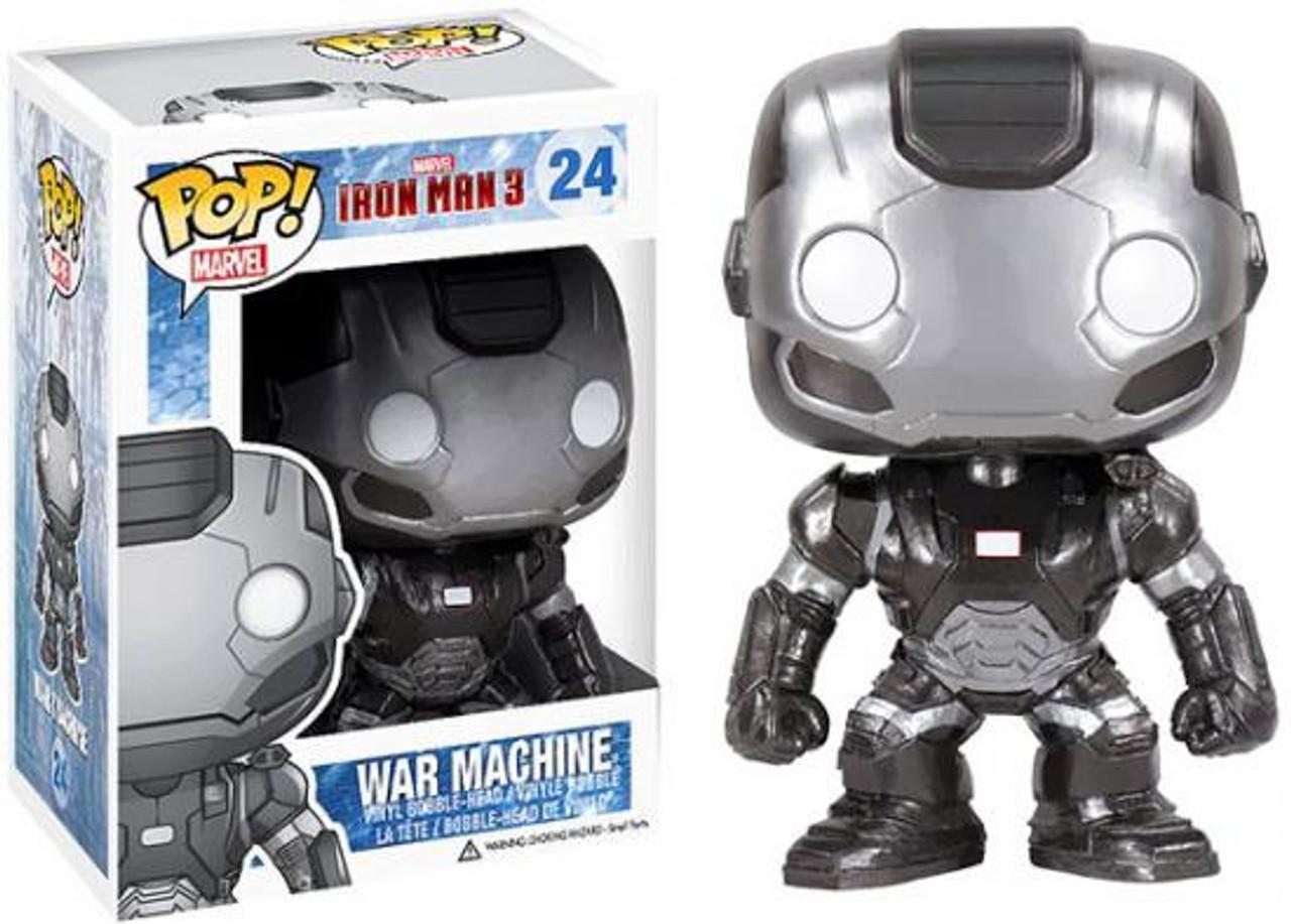 Iron Man 3 Funko POP! Marvel War Machine Vinyl Bobble Head #24