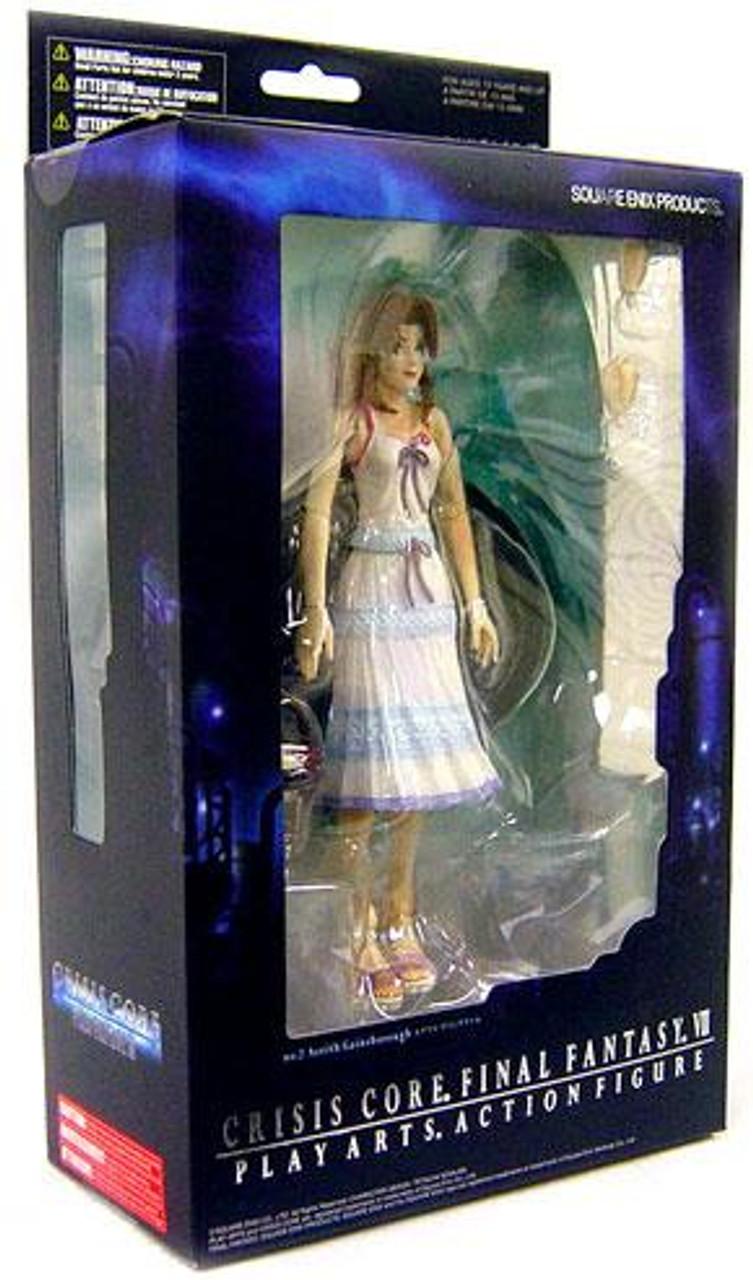 Final Fantasy Crisis Core Play Arts Kai Aerith Gainsborough Action Figure
