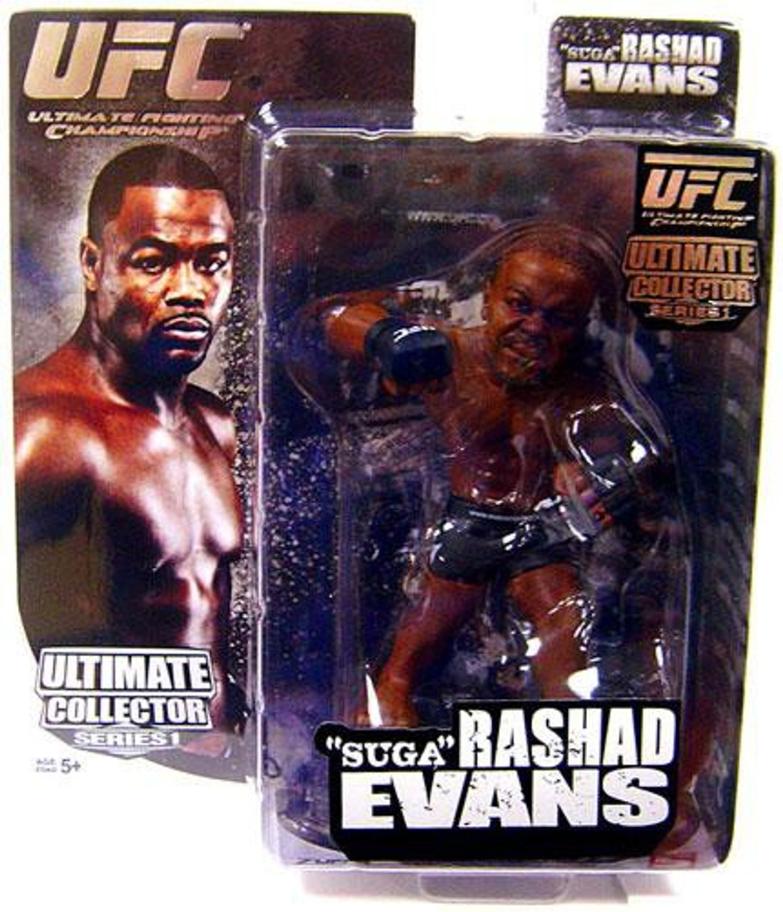 UFC Ultimate Collector Series 1 Rashad Evans Action Figure