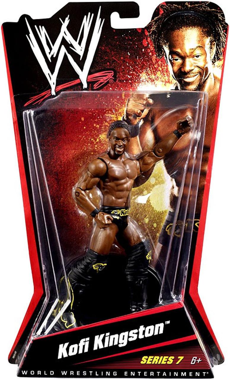 WWE Wrestling Series 7 Kofi Kingston Action Figure