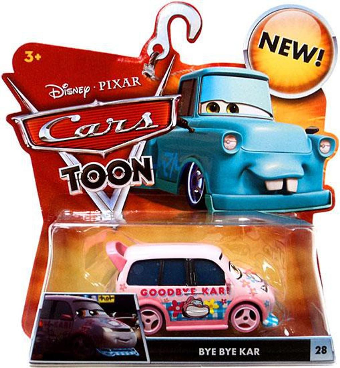 Disney Cars Cars Toon Main Series Bye Bye Kar Diecast Car #28