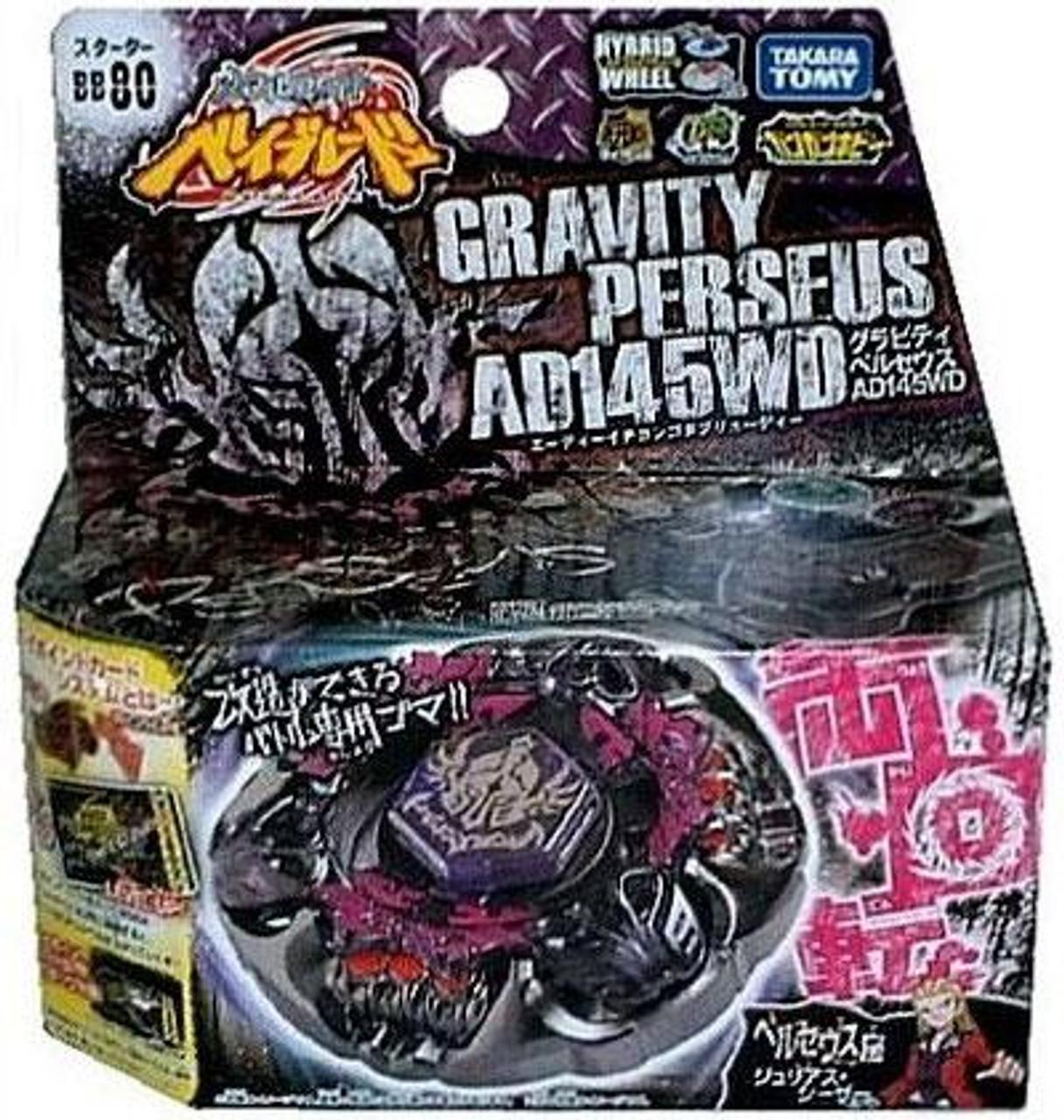 Beyblade Metal Fusion Japanese Gravity Perseus Starter Set BB-80 [AD145WD]