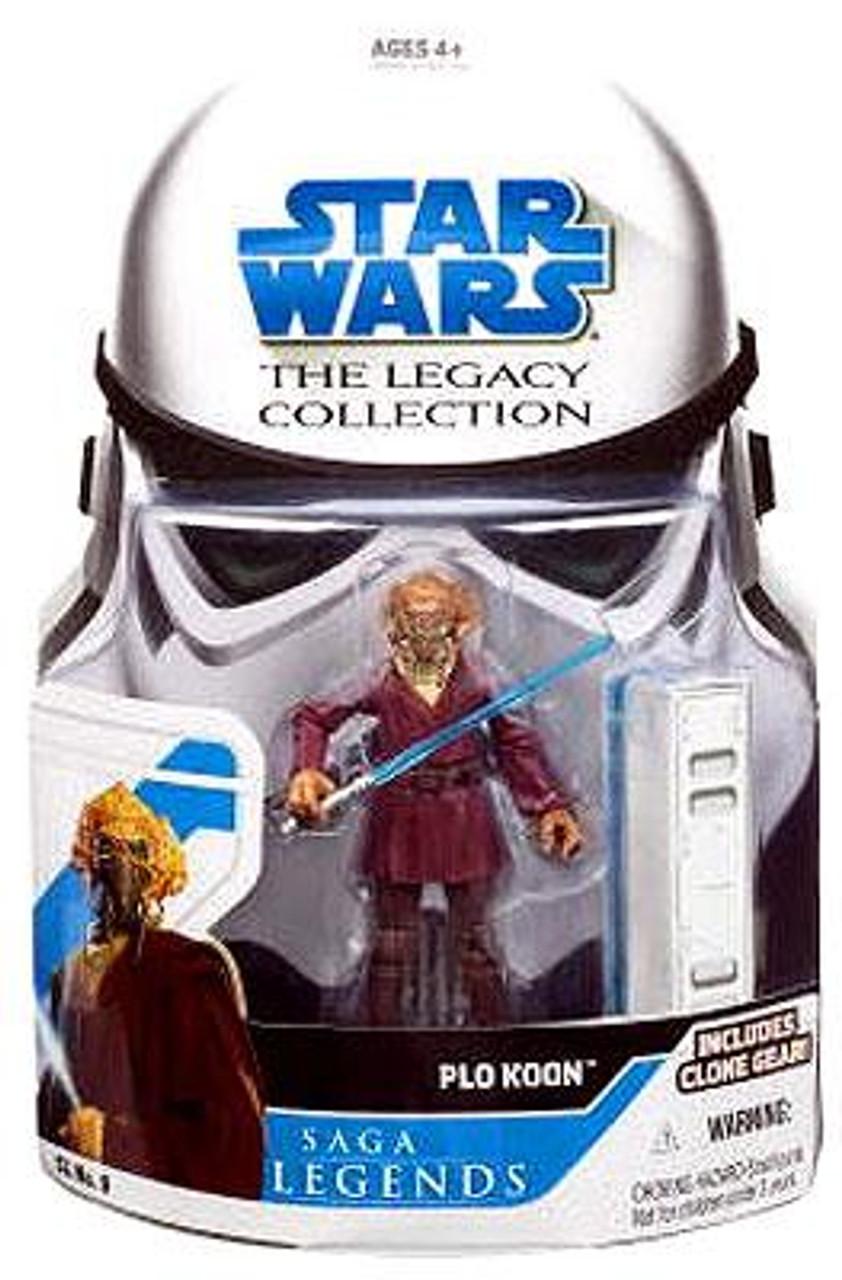 Star Wars Revenge of the Sith Legacy Collection 2008 Saga Legends Plo Koon Action Figure SL09